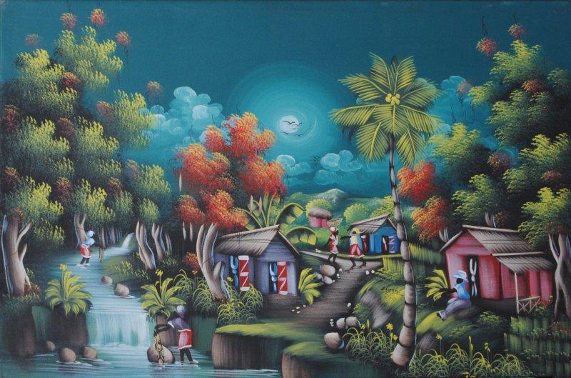 Buy art haitian art frame art miami for Art galleries that buy art